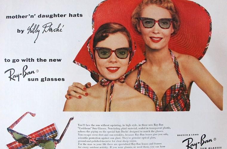 historia de lentes ray ban